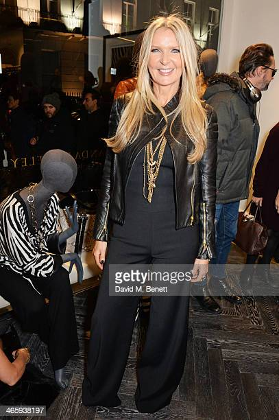 Amanda Wakeley attends the launch of the Amanda Wakeley London flagship store on January 30 2014 in London England
