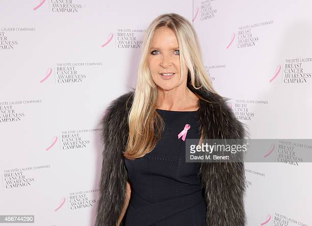 Amanda Wakeley attends the launch of The Estee Lauder Companies' UK Breast Cancer Awareness Campaign 2014 'Hear Our Stories Share Yours' at...
