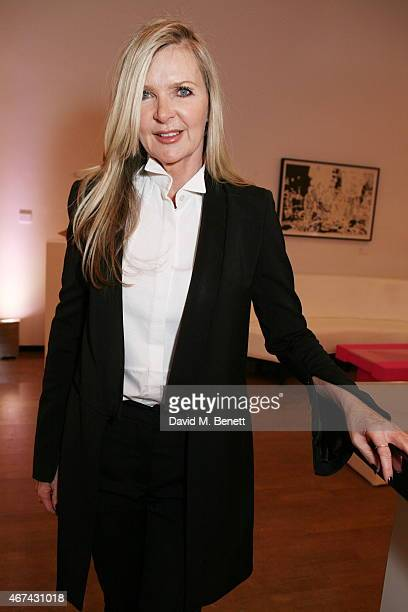 Amanda Wakeley attends the Royal Academy School's annual dinner and auction at the Royal Academy of Arts on March 24 2015 in London England