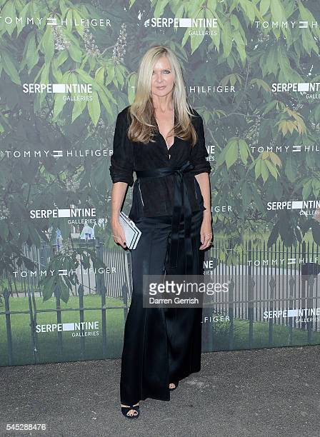 Amanda Wakeley attends the Serpentine Summer Party cohosted by Tommy Hilfiger at the Serpentine Gallery on July 6 2016 in London England