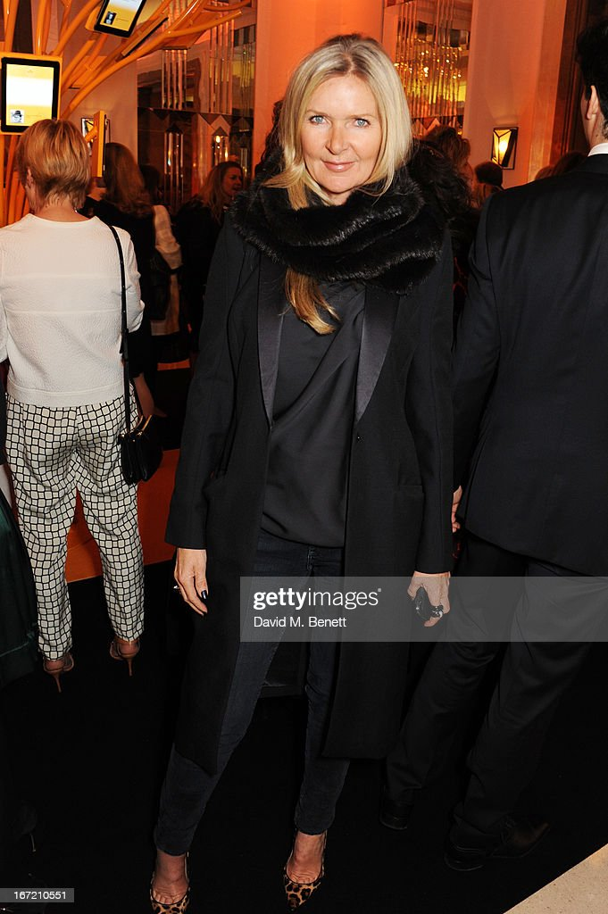 Amanda Wakeley attends the Veuve Clicquot Business Woman Award 2013 at Claridge's Hotel on April 22, 2013 in London, England.
