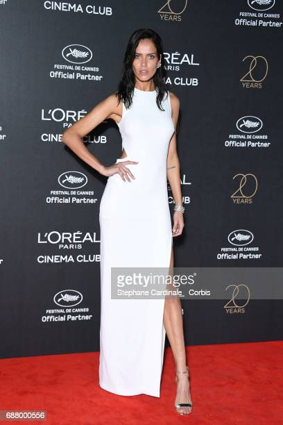 Amanda Wellsh attends Gala 20th Birthday of L'Oreal In Cannes during the 70th annual Cannes Film Festival at Martinez Hotel on May 24 2017 in Cannes...