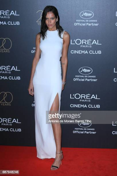 Amanda Wellsh attends the Gala 20th Birthday Of L'Oreal In Cannes during the 70th annual Cannes Film Festival at Hotel Martinez on May 24 2017 in...