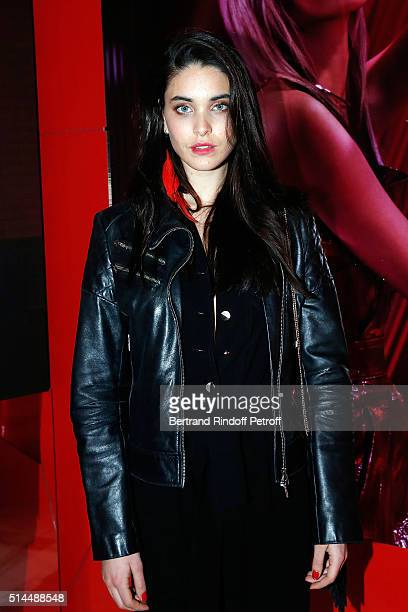 Amanda Wellsh attends the L'Oreal Red Obsession Party as part of the Paris Fashion Week Womenswear Fall/Winter 2016/2017 on March 8 2016 in Paris...