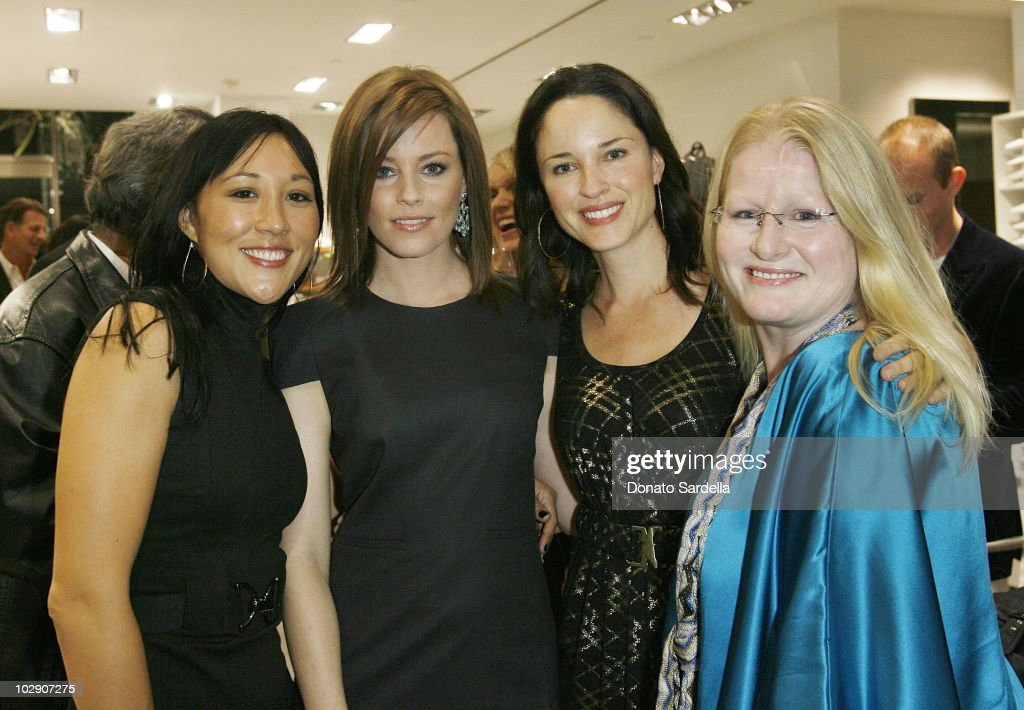 L-R Amanda Young, Elizabeth Banks, Jo Gartin and Shelli- Anne Couch attend Hugo Boss & Vanity Fair with Elizabeth Banks Host Children's Hospital Los Angeles Benefit on November 5, 2009 in Beverly Hills, California.