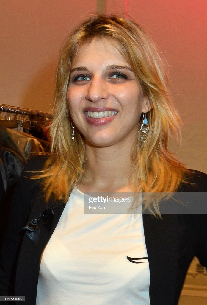 Amandine Bourgeois attends 'La Braderie de L'Eclaireur 2012' in Benefit of Rose Association Against Cancer at Galerie Diana Marquardt on November 19, 2012 in Paris, France.
