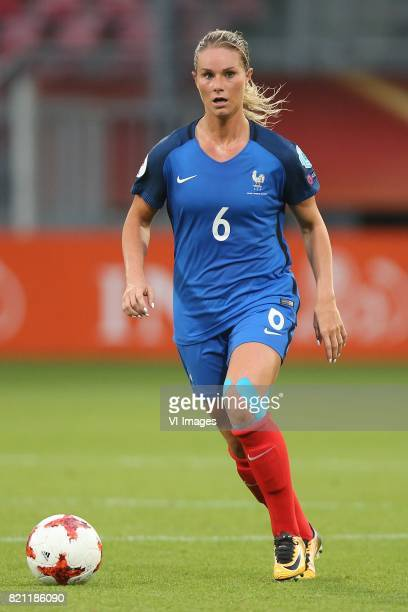 Amandine Henry of France women during the UEFA WEURO 2017 Group C group stage match between France and Austria at the Galgenwaard Stadium on July 22...