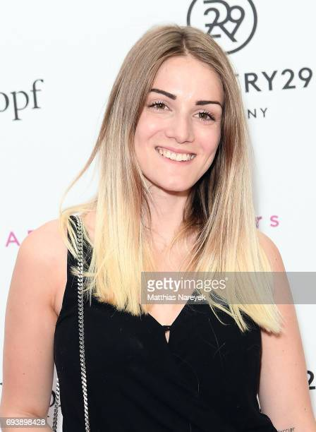 Amandine Peignois attends the Schwarzkopf x Refinery29 event at Bar Babette on June 8 2017 in Berlin Germany