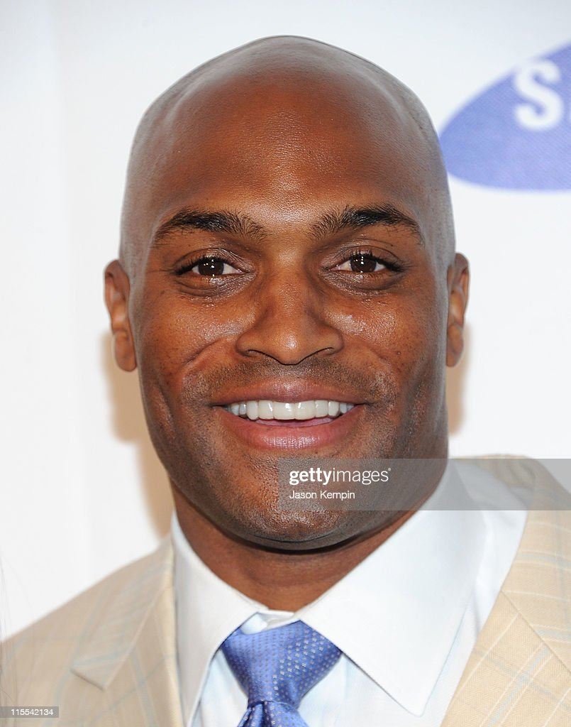 Amani Toomer attends the Samsung Hope for Children gala at Cipriani Wall Street on June 7, 2011 in New York City.