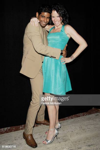 Amar Ramasar and Suzanne Della Pella attend NEW YORK CITY BALLET'S Dance with the Dancers Benefit at David H Koch Theater Lincoln Center on June 14th...