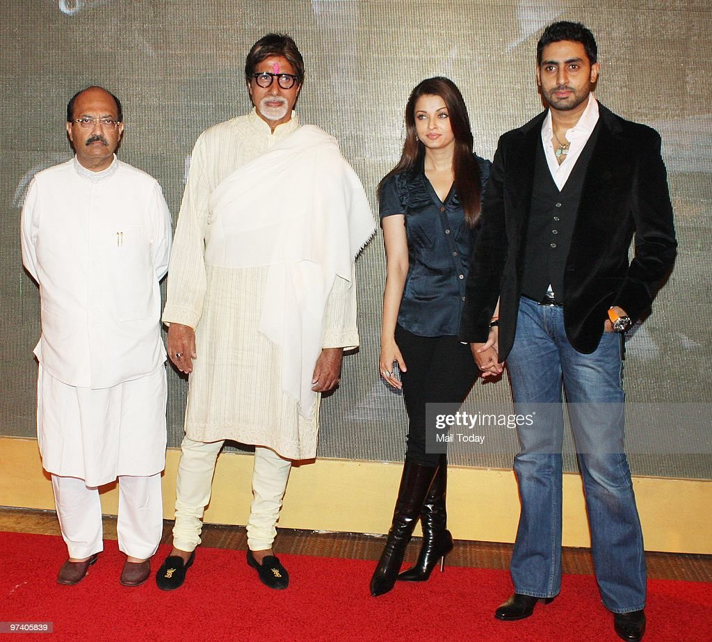 <a gi-track='captionPersonalityLinkClicked' href=/galleries/search?phrase=Amar+Singh&family=editorial&specificpeople=814034 ng-click='$event.stopPropagation()'>Amar Singh</a>, <a gi-track='captionPersonalityLinkClicked' href=/galleries/search?phrase=Amitabh+Bachchan&family=editorial&specificpeople=220394 ng-click='$event.stopPropagation()'>Amitabh Bachchan</a>, <a gi-track='captionPersonalityLinkClicked' href=/galleries/search?phrase=Aishwarya+Rai&family=editorial&specificpeople=202237 ng-click='$event.stopPropagation()'>Aishwarya Rai</a> and Abhihek Bachchan at Big Pictures' success bash held in Mumbai on February 28, 2010.
