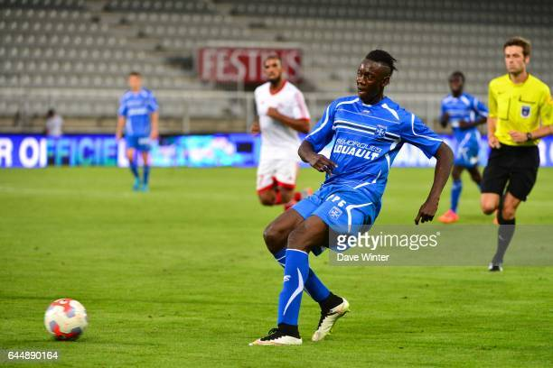 Amara BABY Auxerre / Red Star Match Amical Photo Dave Winter / Icon Sport