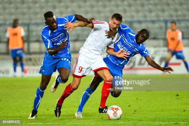 Amara BABY / Kevin LEFAIX / Salimo SYLLA Auxerre / Red Star Match Amical Photo Dave Winter / Icon Sport