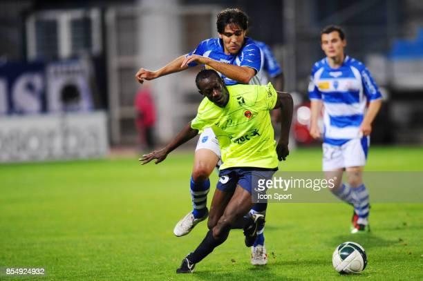 Amara BABY / MARCOS DOS SANTOS Troyes / Chateauroux 8eme journee de Ligue 2 Stade de l'Aube Troyes