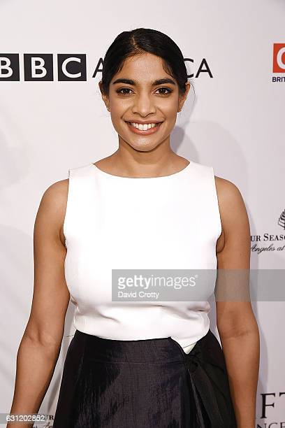 Amara Karan attends The BAFTA Tea Party Arrivals at Four Seasons Hotel Los Angeles at Beverly Hills on January 7 2017 in Los Angeles California