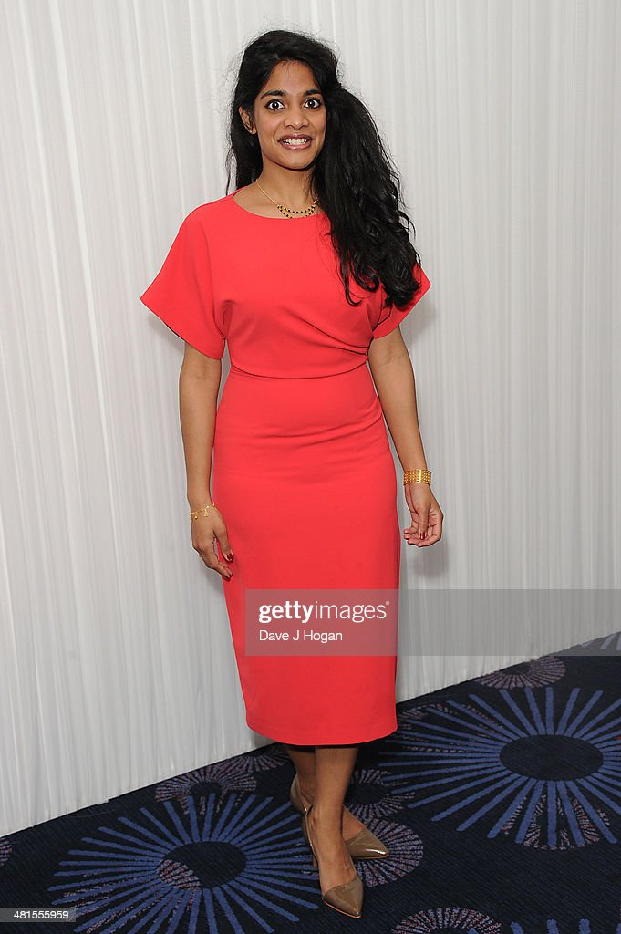 Amara Karan attends the Jameson Empire Film Awards 2014 at The Grosvenor House Hotel on March 30, 2014 in London, England.