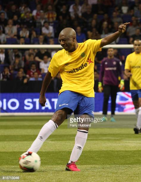 Amaral of Brazil in action during the 3rd Place Play off Star Sixes match between Spain and Brazil at The O2 Arena on July 16 2017 in London England