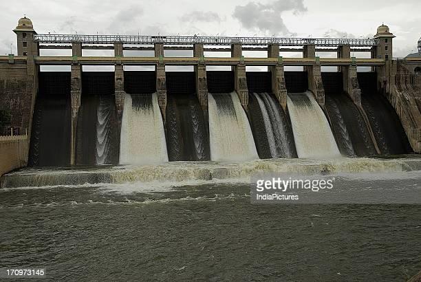 Amaravathi Dam Coimbatore District Tamil Nadu India