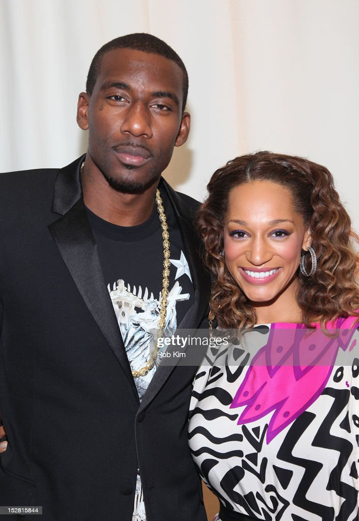 <a gi-track='captionPersonalityLinkClicked' href=/galleries/search?phrase=Amar%27e+Stoudemire&family=editorial&specificpeople=201492 ng-click='$event.stopPropagation()'>Amar'e Stoudemire</a> (L) and Alexis Welch attend the 'A Year In A New York Minute' photo exhibition opening at Canoe Studios on September 26, 2012 in New York City.