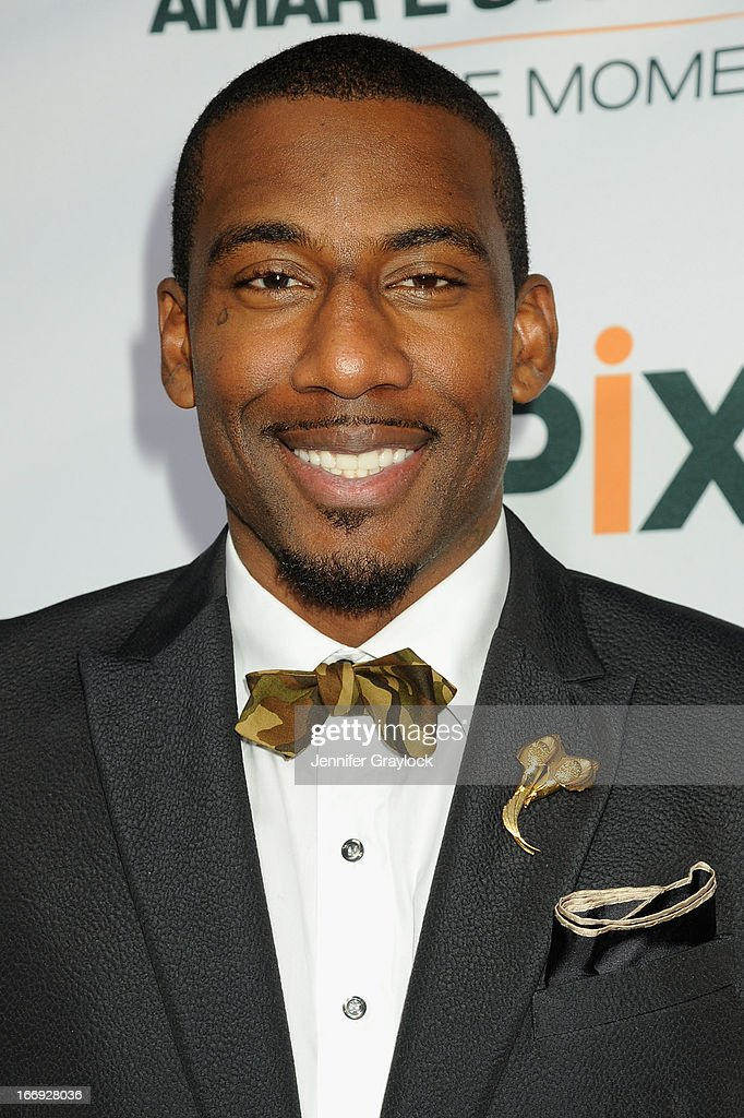 <a gi-track='captionPersonalityLinkClicked' href=/galleries/search?phrase=Amar%27e+Stoudemire&family=editorial&specificpeople=201492 ng-click='$event.stopPropagation()'>Amar'e Stoudemire</a> attends EPIX premiere of <a gi-track='captionPersonalityLinkClicked' href=/galleries/search?phrase=Amar%27e+Stoudemire&family=editorial&specificpeople=201492 ng-click='$event.stopPropagation()'>Amar'e Stoudemire</a> IN THE MOMENT on April 18, 2013 in New York City.