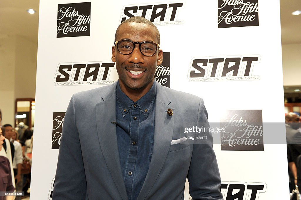 Amare Stoudemire attends Fashion's Night Out at Saks Fifth Avenue on September 6, 2012 in New York City.