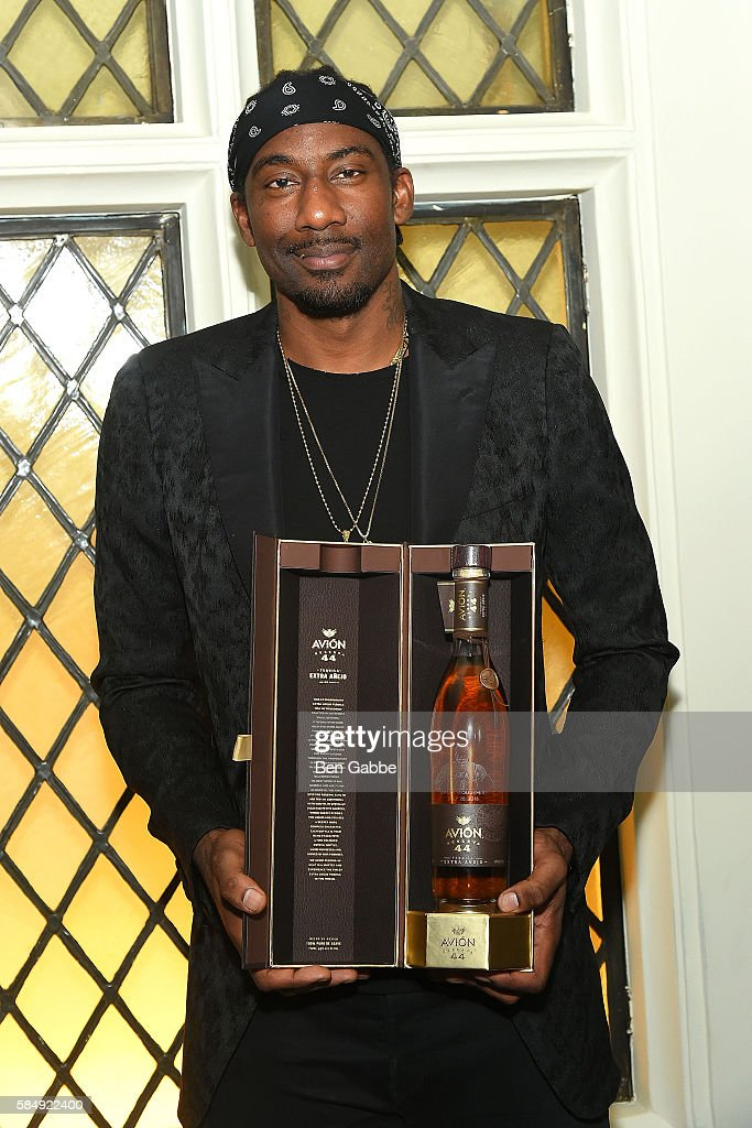 Amar'e Stoudemire attends Haute Time Celebrates Amar'e Stoudemire presented By Avion Reserva 44 at American Cut on July 31, 2016 in New York City.