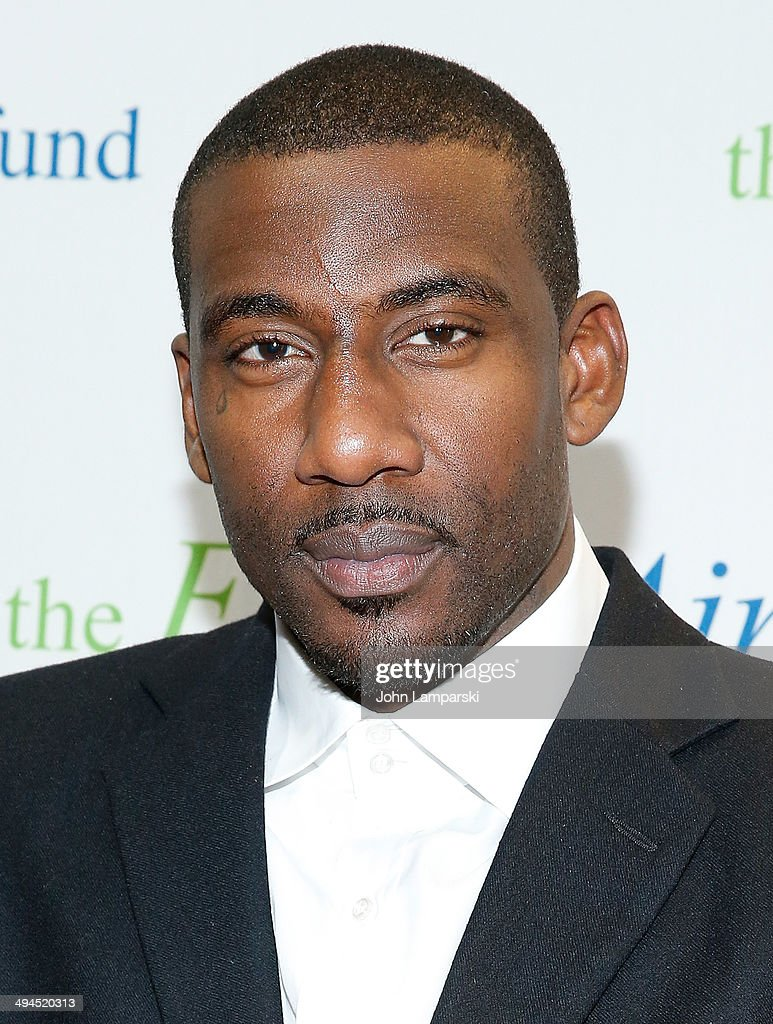 <a gi-track='captionPersonalityLinkClicked' href=/galleries/search?phrase=Amar%27e+Stoudemire&family=editorial&specificpeople=201492 ng-click='$event.stopPropagation()'>Amar'e Stoudemire</a> attends the 2014 Fresh Air Fund Honoring Our American Hero at Pier Sixty at Chelsea Piers on May 29, 2014 in New York City.