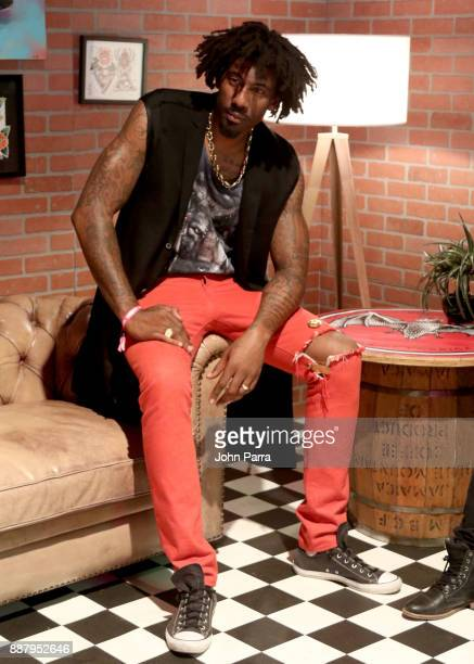 Amar'e Stoudemire attends the VIP Preview of BACARDI Swizz Beatz And The Dean Collection Bring NO COMMISSION Back To Miami To Celebrate 'Island...