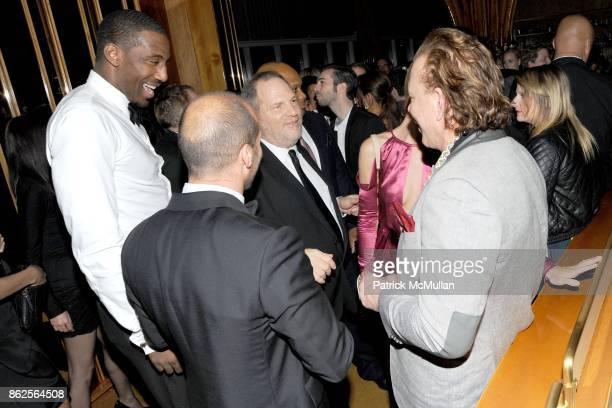 Amar'e Stoudemire Jason Statham Harvey Weinstein and Mickey Rourke attend The Unofficial After Party for THE METROPOLITAN MUSEUM OF ART'S Spring 2011...