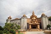 Amata castle at Amata industrial estate in Chonburi province