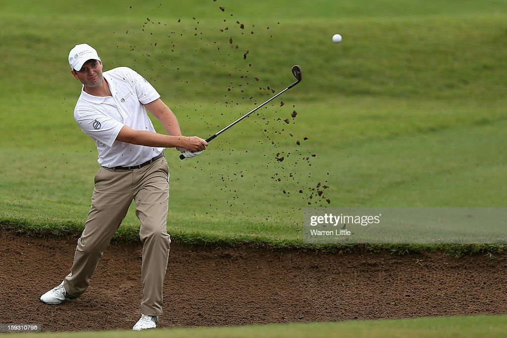 Amateur, Carl James Downham in action during the second round of the Volvo Golf Champions at Durban Country Club on January 11, 2013 in Durban, South Africa.