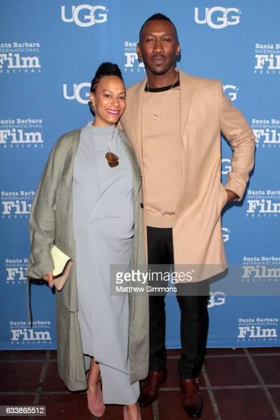 Amatus SamiKarim and actor Mahershala Ali attend the Virtuosos Award presented by UGG during the 32nd Santa Barbara International Film Festival at...