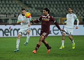 Amauri during Tim Cup match between Torino FC and AC Cesena at the Olympic Stadium of Turin on December 01 2015 in Turin Italy