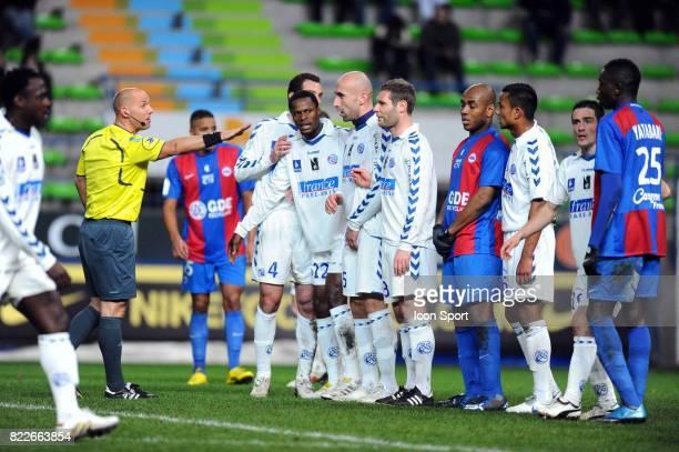 Amaury DELERUE Caen / Strasbourg 26eme journee de Ligue 2 Stade Michel D'Ornano