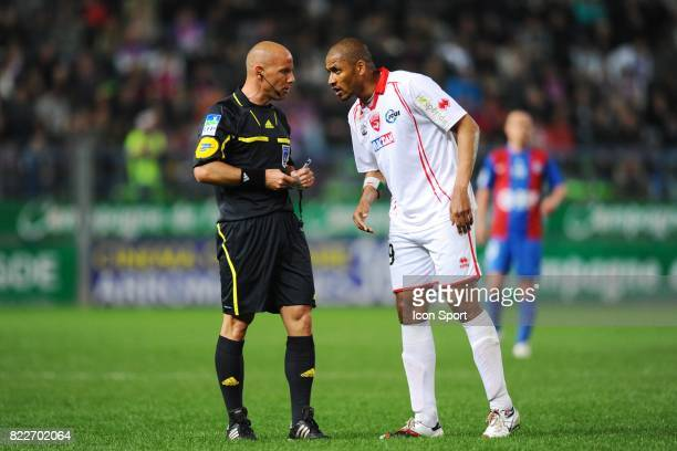 Amaury DELERUE / Abderraouf ZARABI Caen / Nimes 33eme journee de Ligue 2 Stade Michel d'Ornano Caen