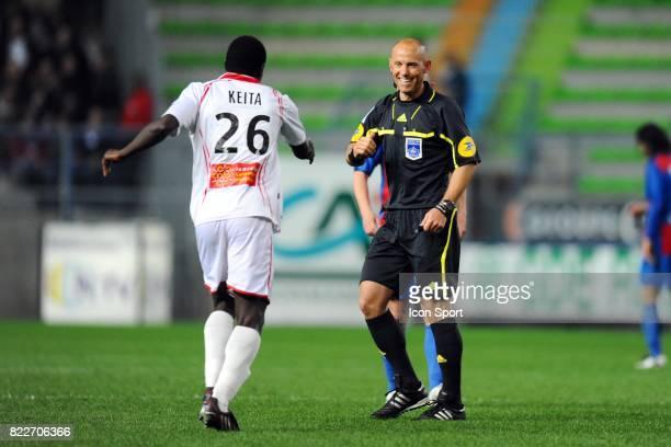 Amaury DELERUE / Alphousseyni KEITA Caen / Nimes 33eme journee de Ligue 2 Stade Michel d'Ornano Caen