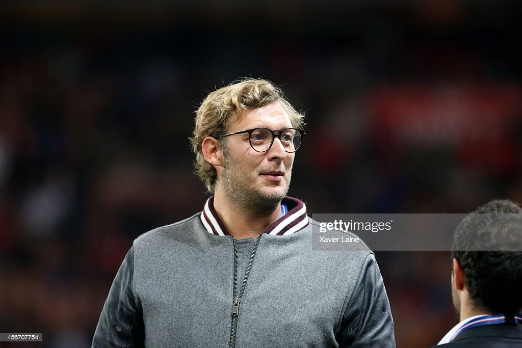 Amaury Leveaux attends the French Ligue 1 between Paris Saint-Germain FC and AS Monaco FC at Parc Des Princes on October 05, 2014 in Paris, France.