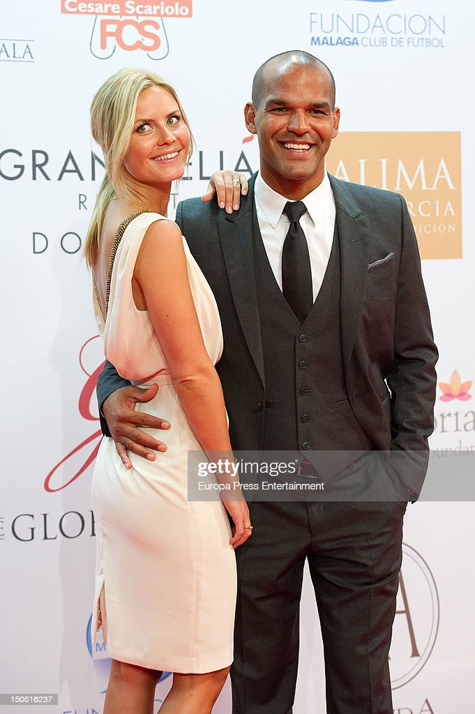 Amaury Nolasco and Jennifer Morrison attend the Global Gift Gala 2012 a party held by Cesare Scariolo Foundation and Eva Longoria Foundation to raise...