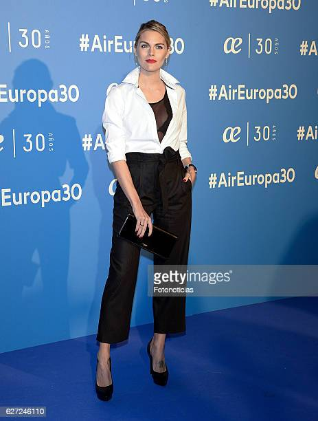 Amaya Salamanca attends the Air Europa 30th Anniversary Event at Palafox Cinema on December 2 2016 in Madrid Spain