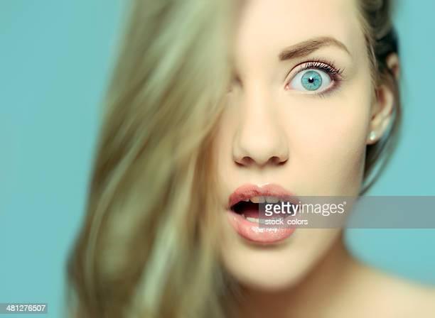 amazed expression