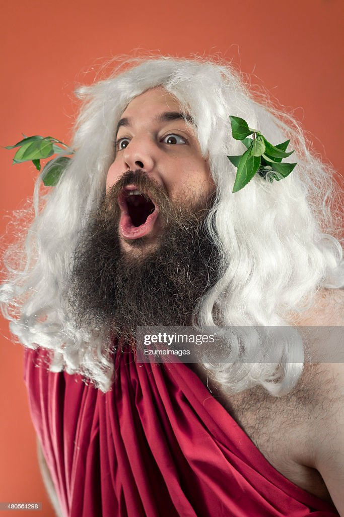 Amazed Zeus : Stock Photo
