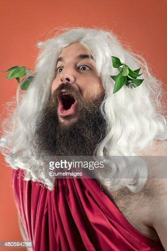 Amazed Zeus : Stock Photo