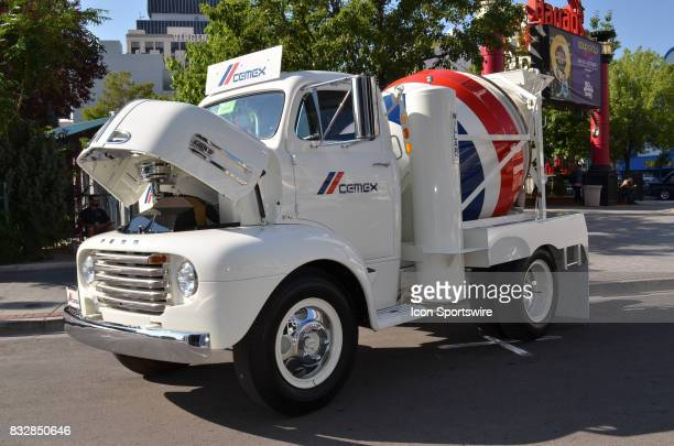Amazing 1948 Ford Cement Mixer on display at the Hot August Nights Custom Car Show the largest nostalgic car show in the world on August 11 2017 held...