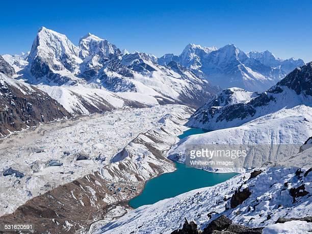 Amazing Himalayan view from Gokyo Ri, Nepal