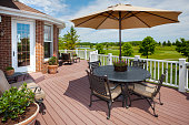 Amazing Home Patio Deck With View of Golf Course