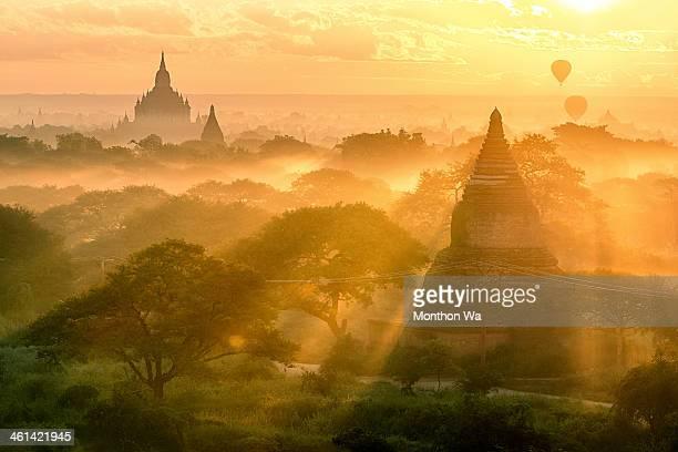 Amazing light at Bagan, Myanmar
