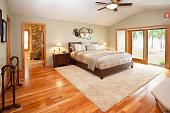 Amazing Master Bedroom  Suite with Hardwood Floor, Raised Ceiling