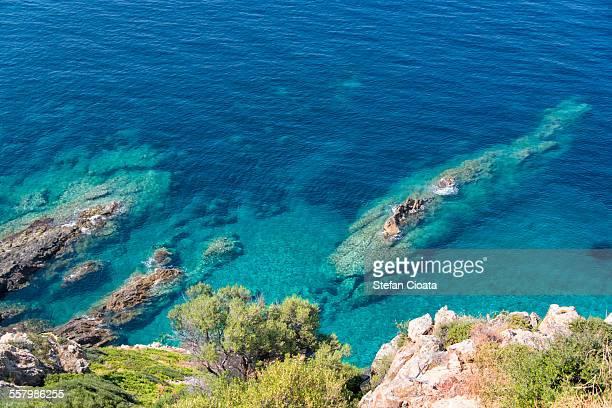 Amazing Mediterranean Sea color