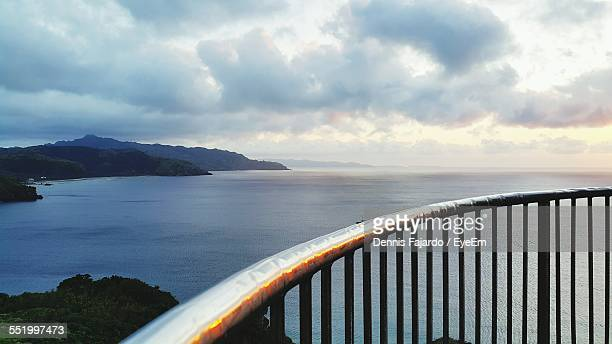 Amazing Scene Of Sea And Mountain Viewed From Observation Point