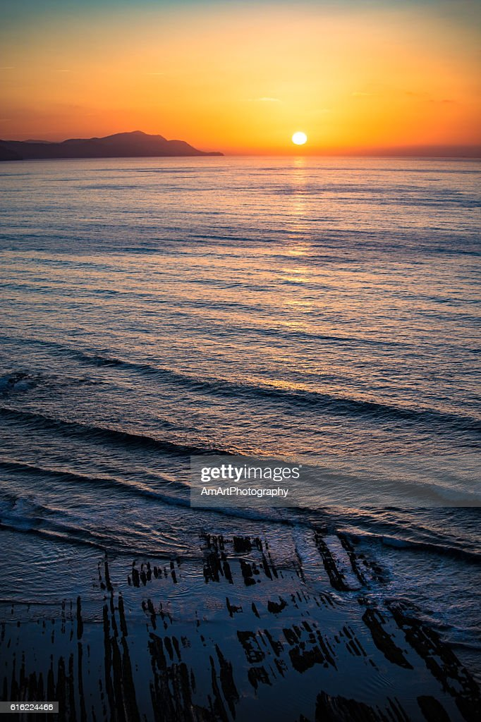 Amazing sunset : Stock Photo